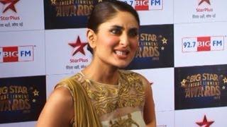 Kareena Kapoor EXPOSES Ranbir & Katrina @ Big Star Entertainment Awards 2013