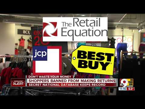 Shoppers being banned for too many store returns