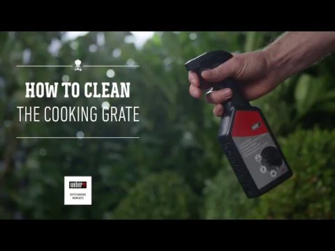 How to clean the Cooking Grate