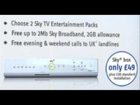 Latest Sky Offers Sept 09