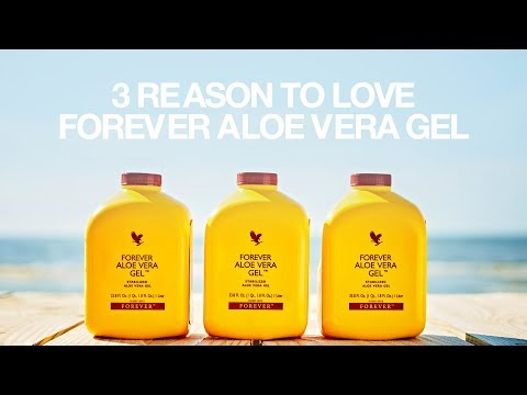 Three reasons to love Forever Aloe Vera Gel