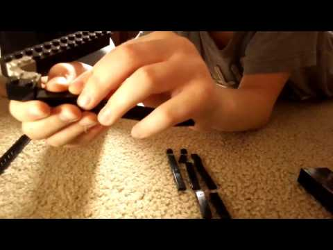 How to Make Lego Butterfly Knife (Easy)