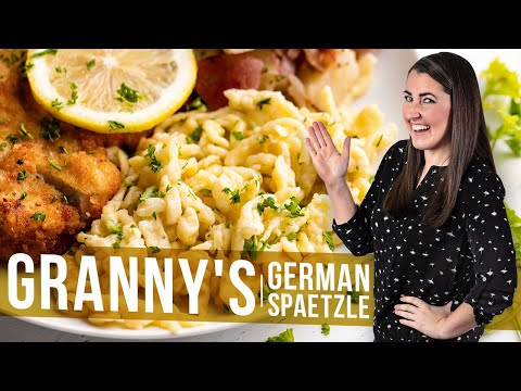 How to Make Granny's German Spaetzle | The Stay At Home Chef