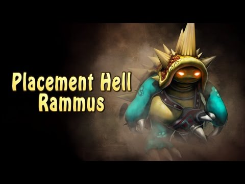 League of Legends - Placement Hell Rammus (S5 Mary)