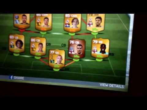 FIFA 14 Gold player Glitch