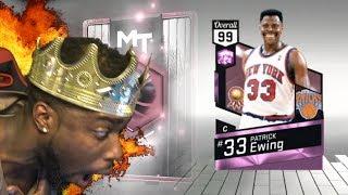 WE GOT 99 PINK DIAMOND PATRICK EWING!!!! OMG!!11!!