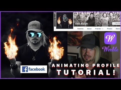 Werble Tutorial - Animate Your Facebook Profile Picture!