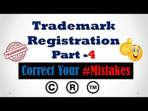 Trademark Registration Part- 4 #Correct Your #Mistakes