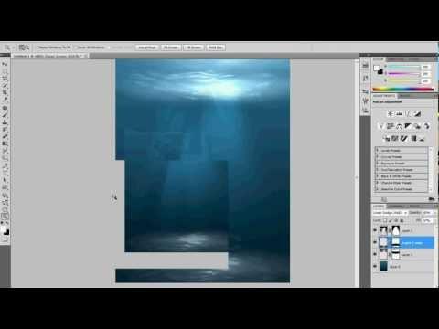 how to make Underwater Scene - Photoshop tutorial (9)