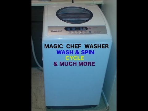 (( MAGIC CHEF WASHER ))   WASH & SPIN SOUNDS & MUCH MORE