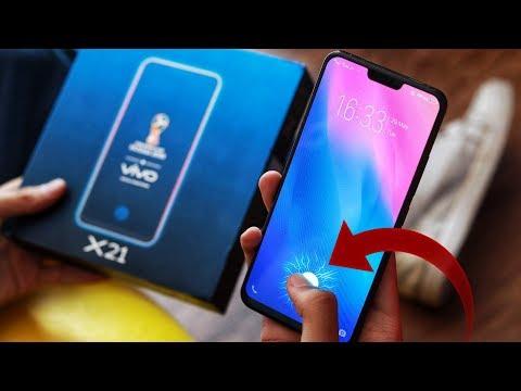 VIVO X21 UNBOXING & FIRST LOOK! Under-screen fingerprint scanner faadu hai (Hindi) UD