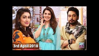 Salam Zindagi With Faysal Qureshi -  Dr. Norman & Aliya Imam - 3rd April 2018