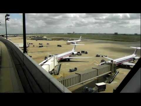 HD Skylink FULL Tour DFW International Airport Dallas Fort Worth Train People Mover