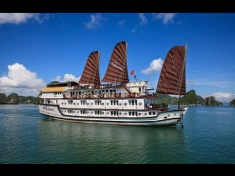 HA LONG BAY, VIETNAM. Cruising with Paloma, to celebrate our 47th wedding anniversary.