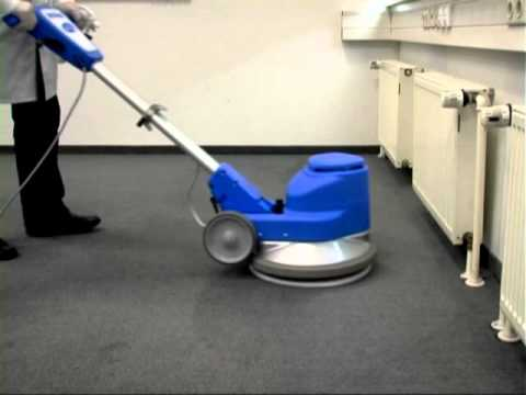 Carpet Cleaner   Pulizia con Disco in Panno