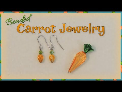 Beaded Carrot Jewelry