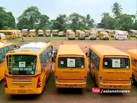 Kerala MVD Tightens Rules For school Buses Fitness Certificate