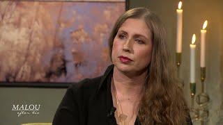 """Sarah är högkänslig: """"En fantastisk förmåga"""" - Malou Efter tio (TV4)"""