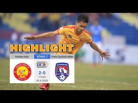 Highlights Thanh Hóa vs Than Quảng Ninh - Xứ Thanh tiêp tục bay cao | V.League 2020