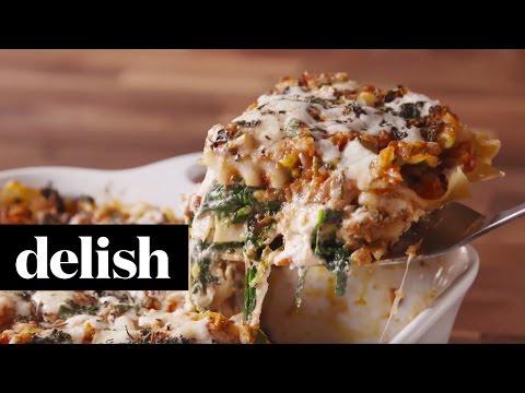 Guy Fieri's Fire-Roasted Lasagna | Delish