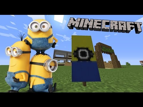 How to make a Minion banner in Minecraft!