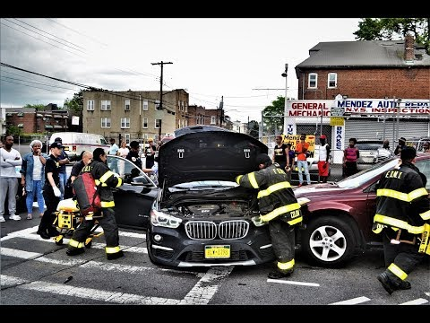 FDNY Ambulance Accident in Bronx