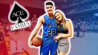 My Favorite Cheerleader ❤️ *Ace Charity Basketball Game!*