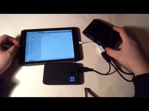 How to use an external hard drive on an iPad (mini)
