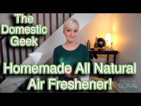The Domestic Geek: How to Create An All Natural Air Freshener