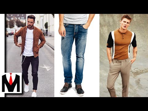 Types of Clothes That Look AWESOME on SKINNY Guys!