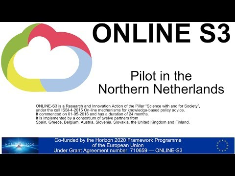 Piloting the Online S3 Project in the Northern Netherlands
