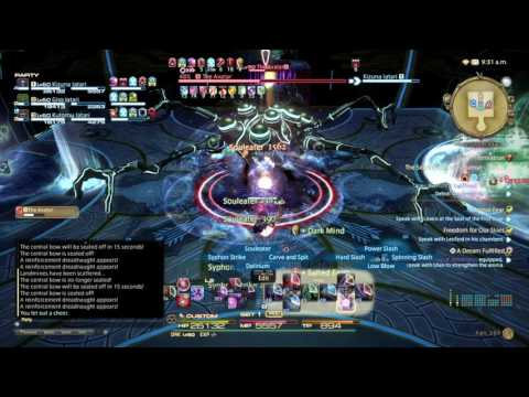 Final Fantasy XIV - Second Coil of Bahamut Turn 8 Unsynced - 3 Brothers Attempt T8!