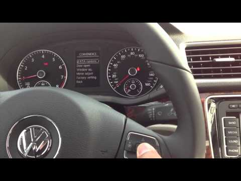 How to enable and disable alarm beep on a Volkswagen