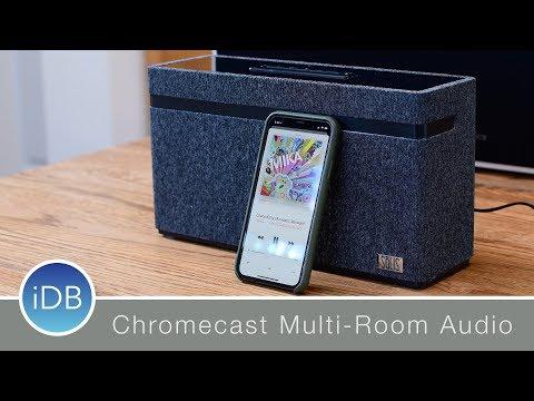SōLIS Smart Speaker works w/ Google Home & Chromecast Multi-Room Playback