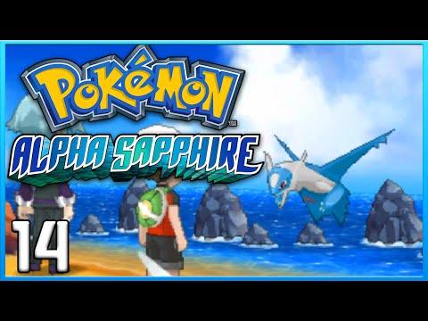 Pokemon Alpha Sapphire Part 14 - Latias & Latios Mega Stones ORAS Gameplay Walkthrough