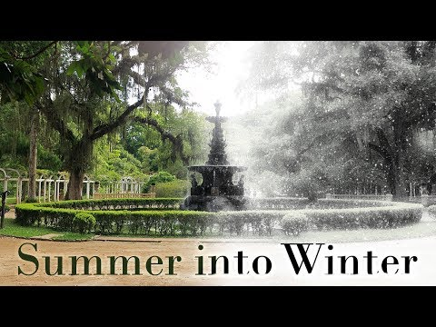 Photoshop Tutorial: How to Quickly Transform Summer into Winter