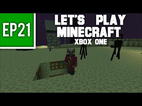 Let's Play Minecraft Xbox One -  EP21: Enderman Farm Build!