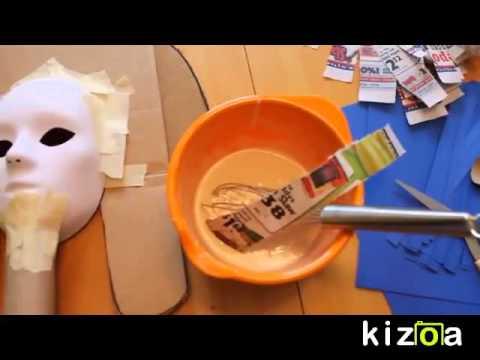 Kizoa Online Movie Maker: Egyptian Mask Project