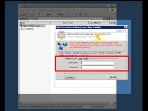 McAfee Antivirus Installation Process: