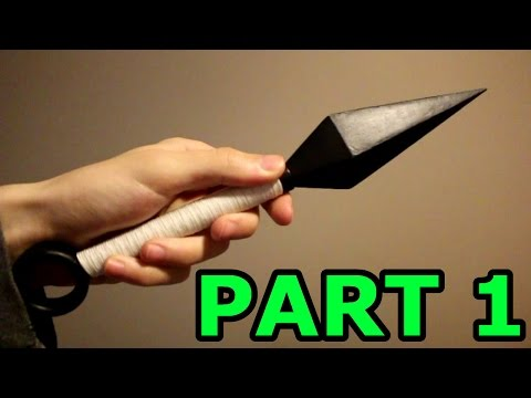 How To Build The Hardened Paper Kunai Part 1