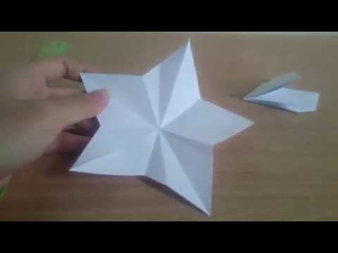 How to make a perfect star with only 1 cut