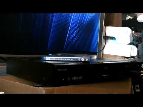 sony Blu-ray DVD player BDP-S300