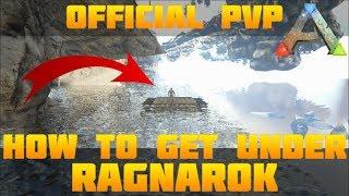 ARK BEST HIDDEN BASE LOCATION Low Profile On Pvp | Ragnarok | Ark