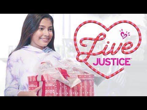 THE MAGIC OF GIVING 💗 JUSTICE