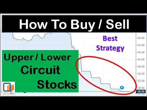How to Buy or Sell Circuit stocks | Buy Circuit stocks | Upper Circuit Lower Circuit | QuriousBox