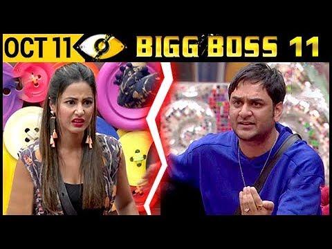 Vikas Gupta Calls Hina Khan HYPOCRITE | Bigg Boss 11– Episode 11 | 12th October 2017 Full Update