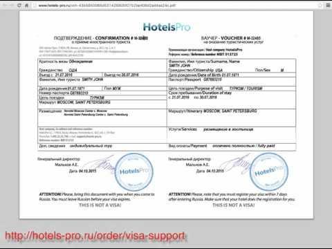 How to obtain a Russian Visa - Step 2 -  Visa Application Form