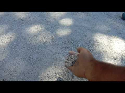 Bocce Court Oyster Shell Spread