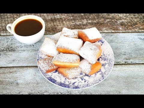 How to Make Beignets - Beignets Cafe Du Monde