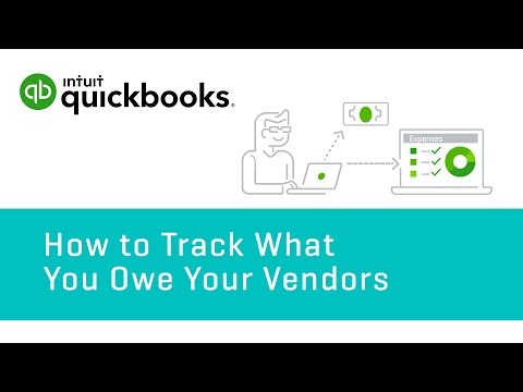 How to Track What You Owe Vendors: Accounts Payable & Balances   QuickBooks Online Tutorial 2018